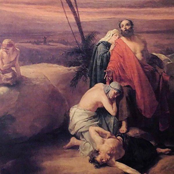 Dipinto Andrea II Appiani - olio su tela