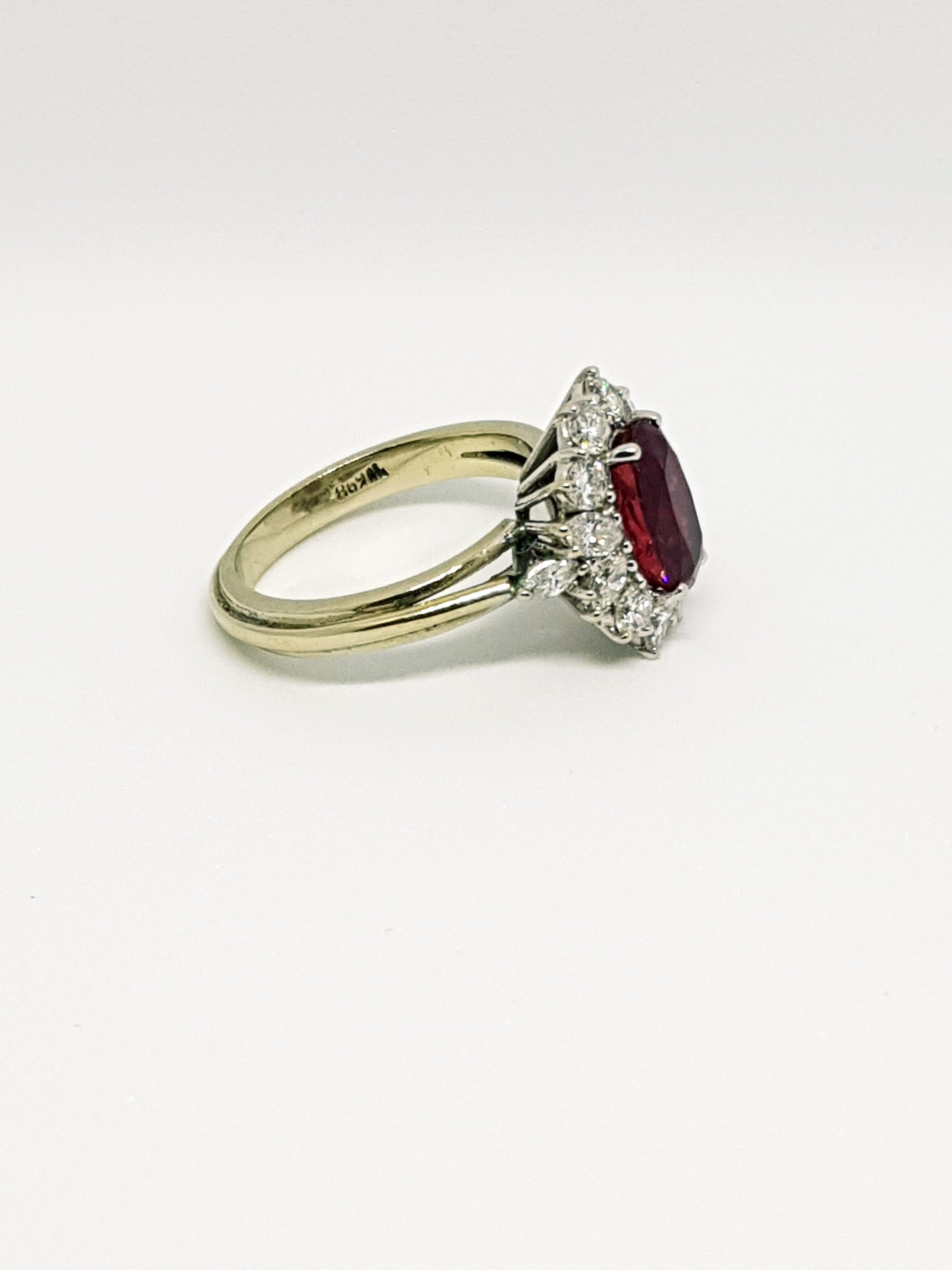 Anello con diamanti e rubino (4)