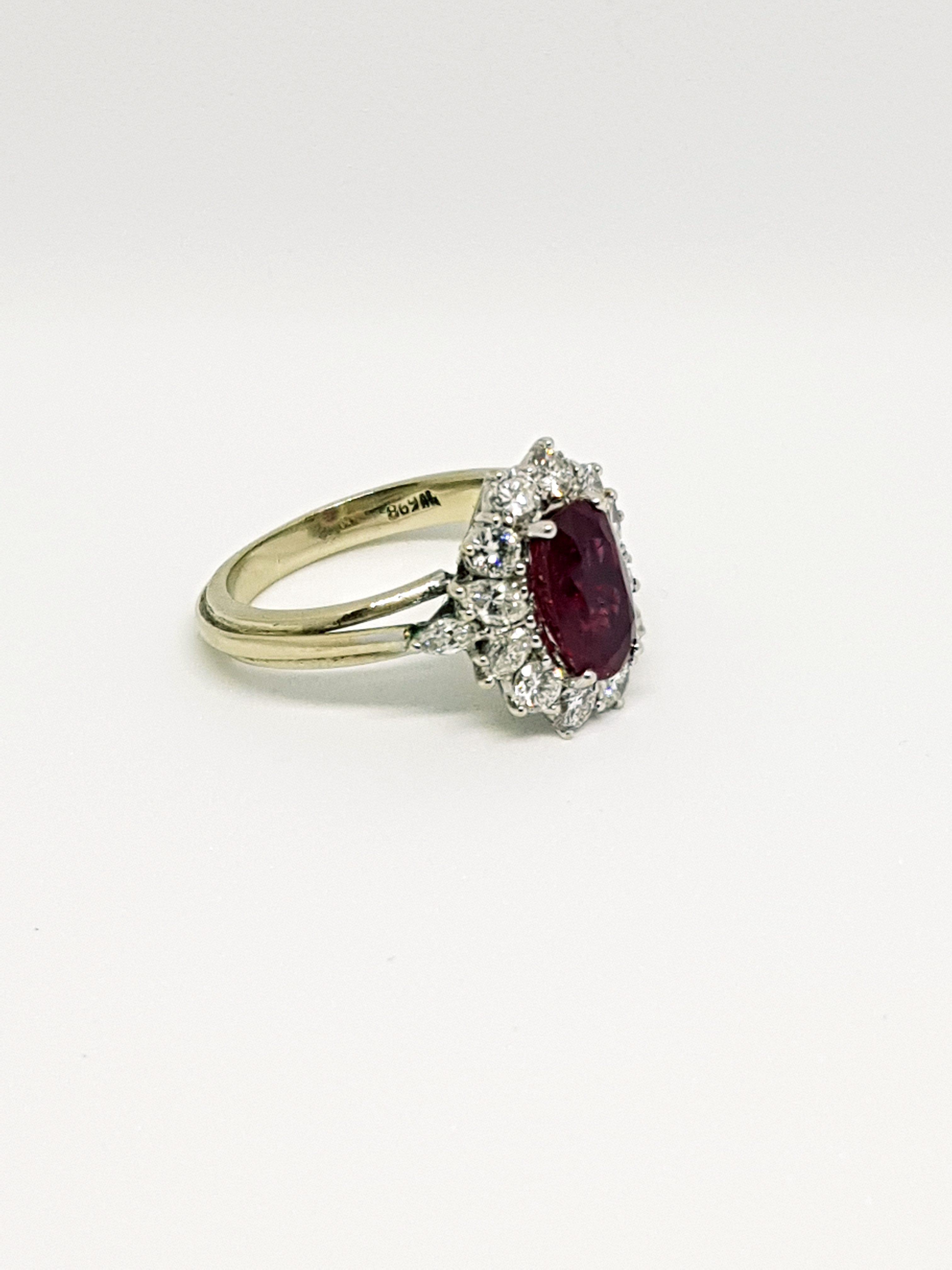 Anello con diamanti e rubino (5)