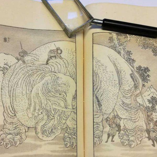 katsushika hokusai manga vendita