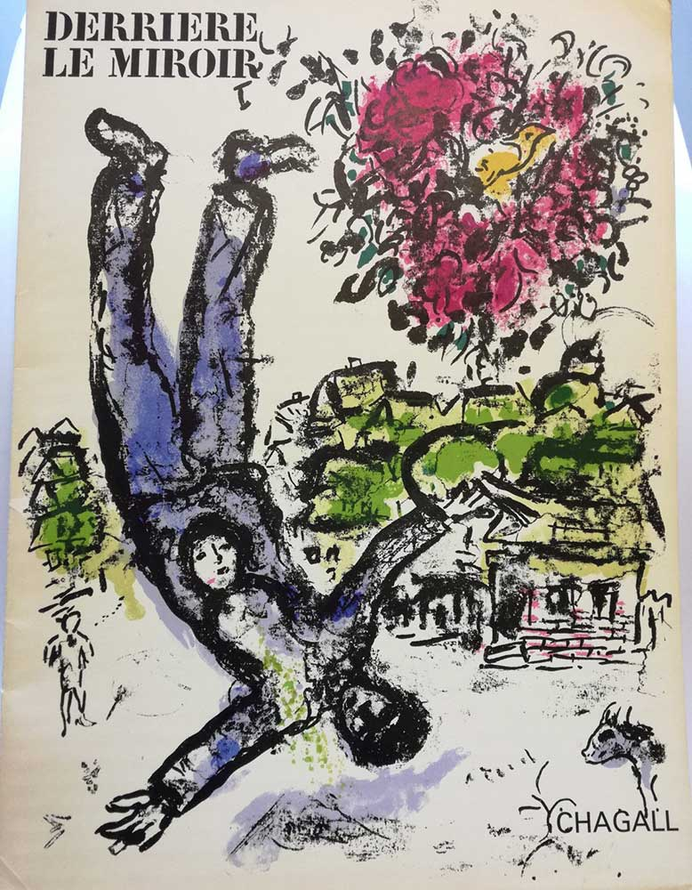 Chagall - Litografie - Derriere-Le-Miroir copertina